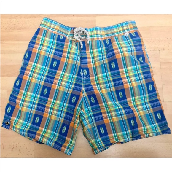 320bf6e300 Polo by Ralph Lauren Swim | Polo Ralph Lauren Madras Trunks Board ...
